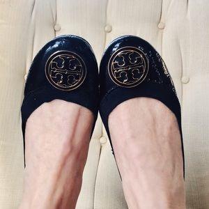 Tory Burch- Caroline- Patent Leather Ballet Flat